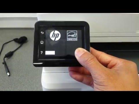Factory Reset HP LaserJet M277dw