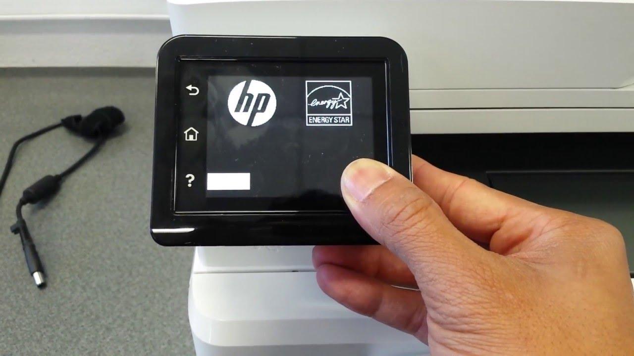 Factory Reset HP LaserJet M26dw