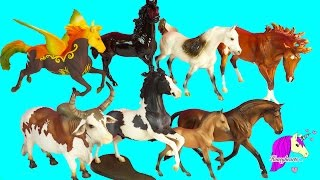 Super Haul - Complete Set of All 8 Traditional Breyerfest Horses 2016 Carnival Special Runs Video