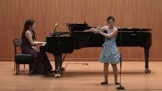 Henri Dutilleux - Sonatine for Flute and Piano (Han yeojin)