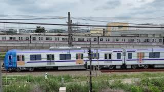 東京メトロ半蔵門線新旧の並び 18000系&8000系