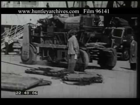 Bristol Docks, 1950s - Film 96141