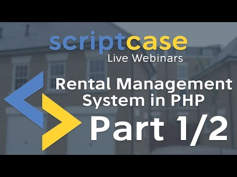 Rental Management System in PHP (Part 1/2)