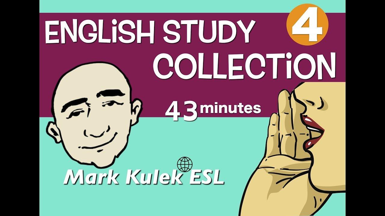 English Study Video Collection #4 - restaurant, greetings, comparisons + more | Mark Kulek - ESL