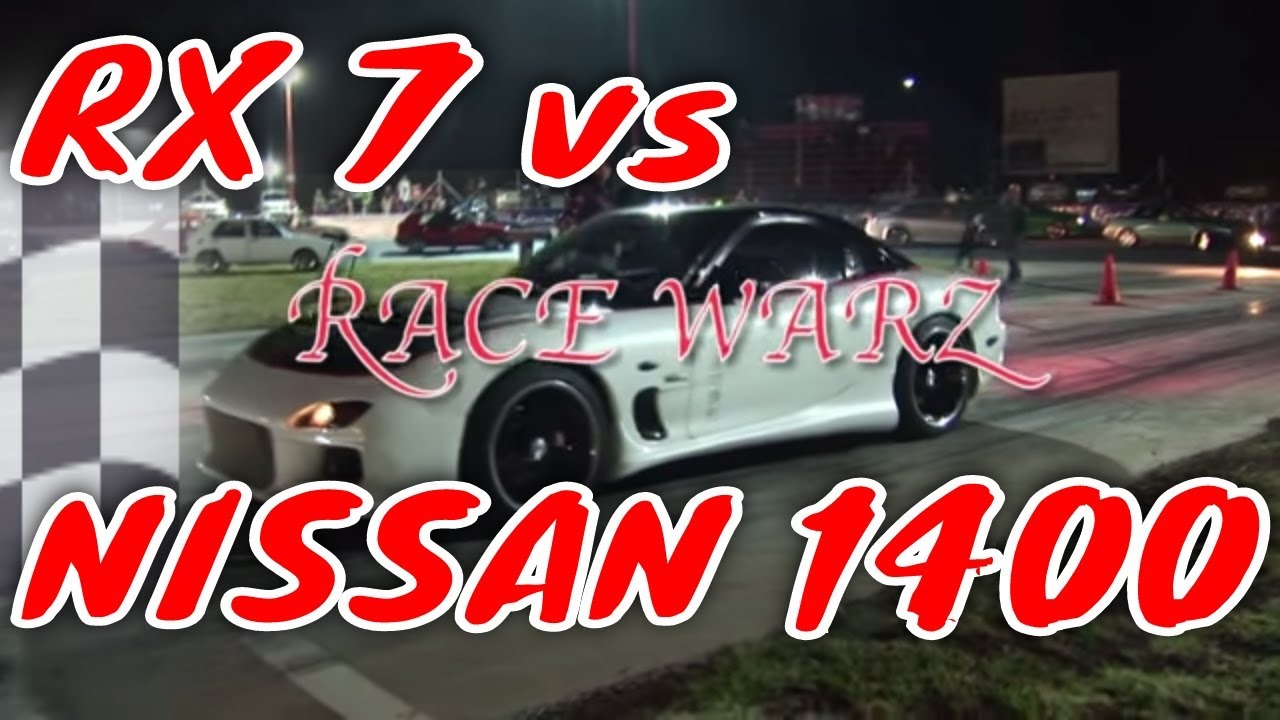 Nissan 1400 Taking On Rx7 Mp4 Youtube