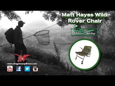 Fishing Roving Chair Morris Cushions See The Brilliant New Wild Rover From Matt Hayes Youtube