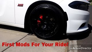 First Mods For Your Charger, Challenger, or 300 To Increase Performance and Customize
