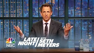 Donald Trump Calls Fox News (And Everyone Else) - Late Night with Seth Meyers