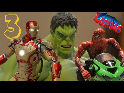 Thumbnail: IRONMAN STOP MOTION Action Video Part 3