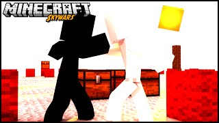 Minecraft: A BRANCA VS A PRETA - JV VS MOON NO SKYWARS