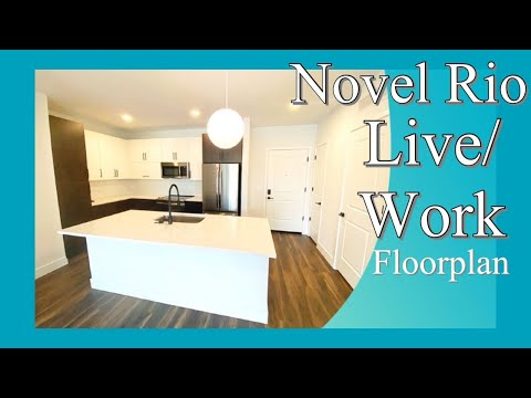 Novel Rio's Live / Work home is perfect for you life and business! Apply today