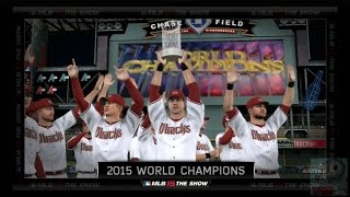 MLB 15 The Show - Arizona Diamondbacks World Series Celebration