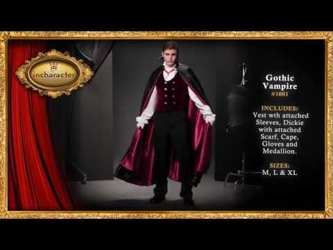 Gothic Vampire Elite Adult Costume
