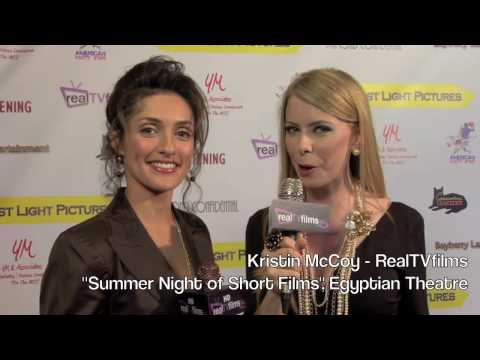 Mirelly Taylor, Kristin McCoy, RealTVfilms, Egyptian Theatre