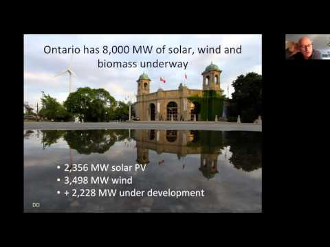 Greening Government Speaker Series - Green Energy, The Quiet Revolution