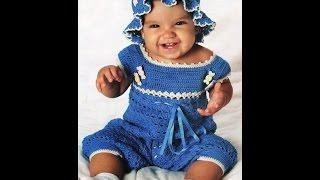 Боди для малыша 1,5 лет, крючком для начинающих,-Часть1/bodysuit knit crochet for baby