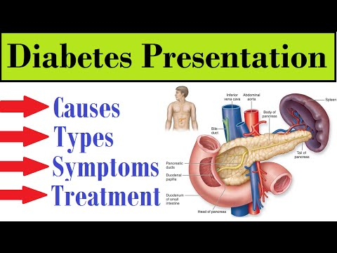 Diabetes  :- Causes,Types & Treatment ! (Award Wining Presentation)