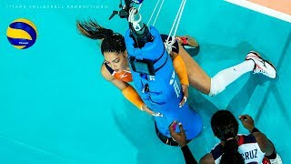 FAIL Moments | Funny Volleyball Actions | Women's VNL 2018