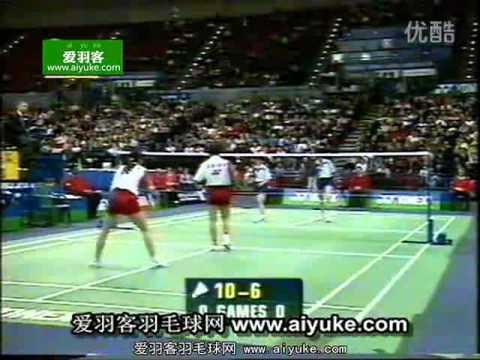 1999 All England badminton women double final