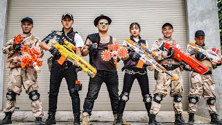LTT Game Nerf War : Warriors SEAL X Nerf Guns Fight Braum Crazy Rescue Main Character