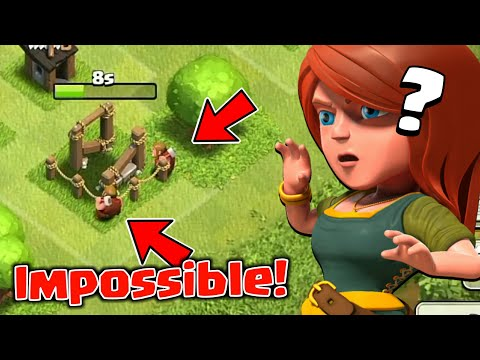 Craziest Builders Funny Glitch In Clash Of Clans - 2018 | Strange Base In COC |