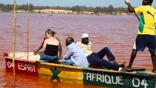 Sénégal lac rose / Senegal Pink lake