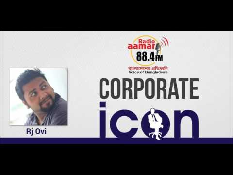 Corporate Icon with Mr. Ashiq (Banglalink-Head of BTL oparation) in Radio Aamar 88.4fm