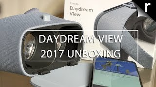 Google Daydream View 2017 Unboxing & Hands-on
