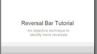 Reversal Bars Trading Techniques