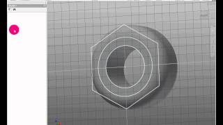 How to draw the Nut in Inventor 2013
