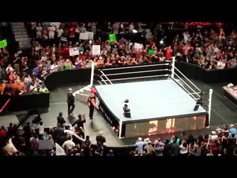 WWE RAW LIVE(7/13/15) @PHILIPS ARENA