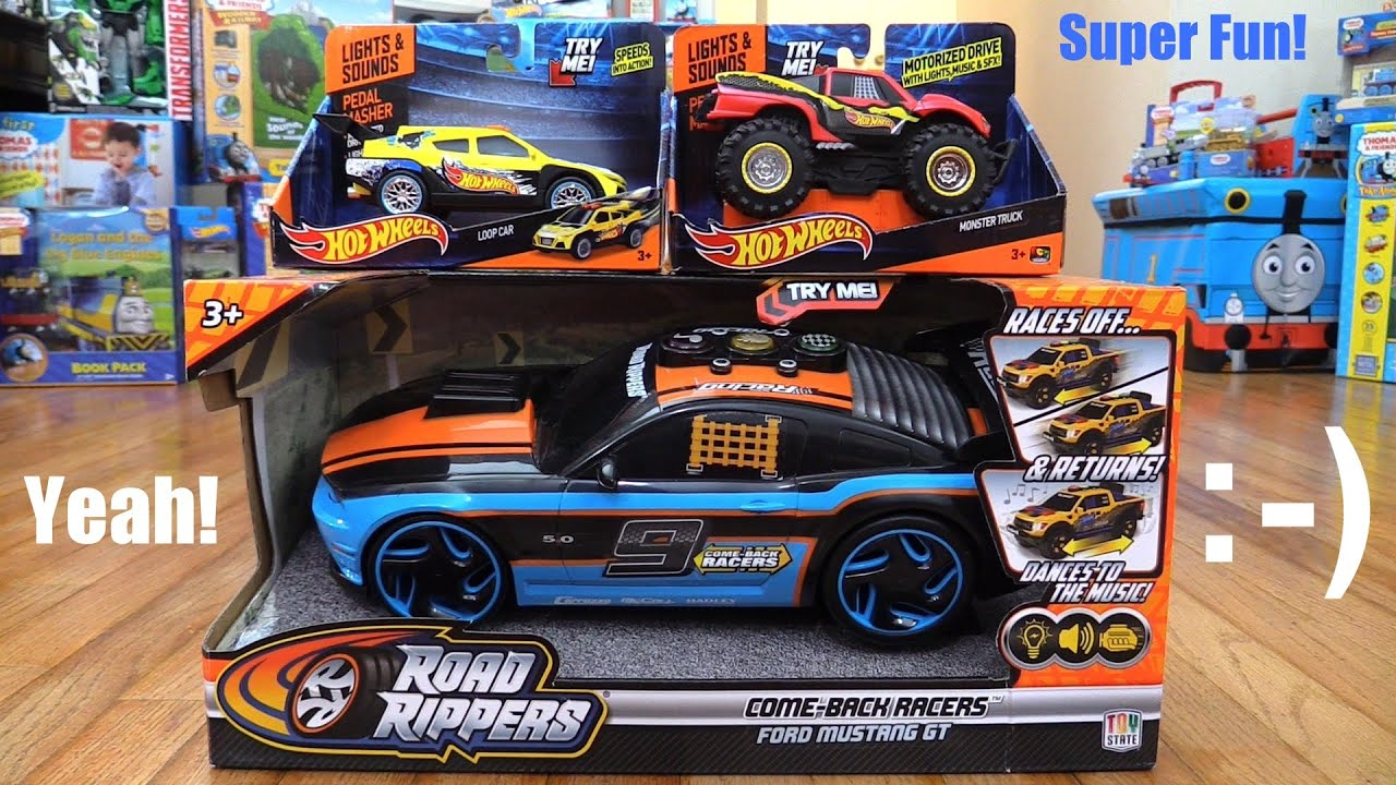 Toy Cars For Kids Hot Wheels Pedal Mashers And Road