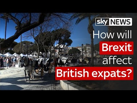 How will Brexit affect British expats?