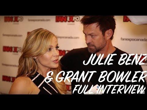 Julie Benz & Grant Bowler