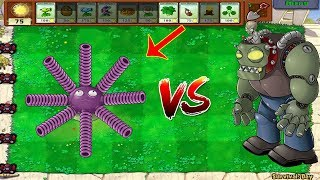 Plants vs Zombies Hack - Gloom-Shroom vs Dr. Zomboss