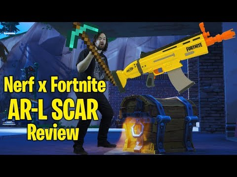 Review: Nerf X Fortnite AR-L SCAR Unboxing
