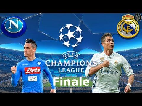 Napoli vs Real Madrid - Grande Finale di Champions League