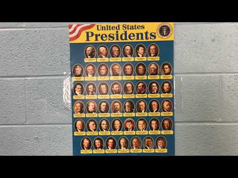 Stratford Preschool US Presidents Song