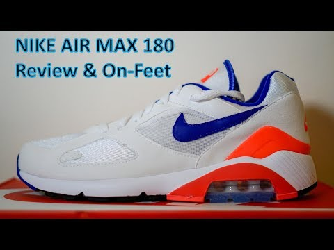 new arrival cd053 3af3c REVIEW   ON-FEET Air Max 180 Ultramarine - MySqueakers