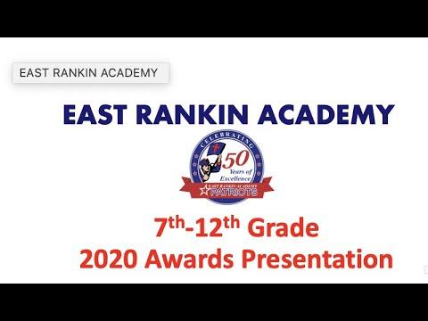 East Rankin Academy 2020 Academic Awards Presentation