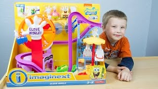 Imaginext SpongeBob SquarePants Glove World - Review by Kinder Playtime