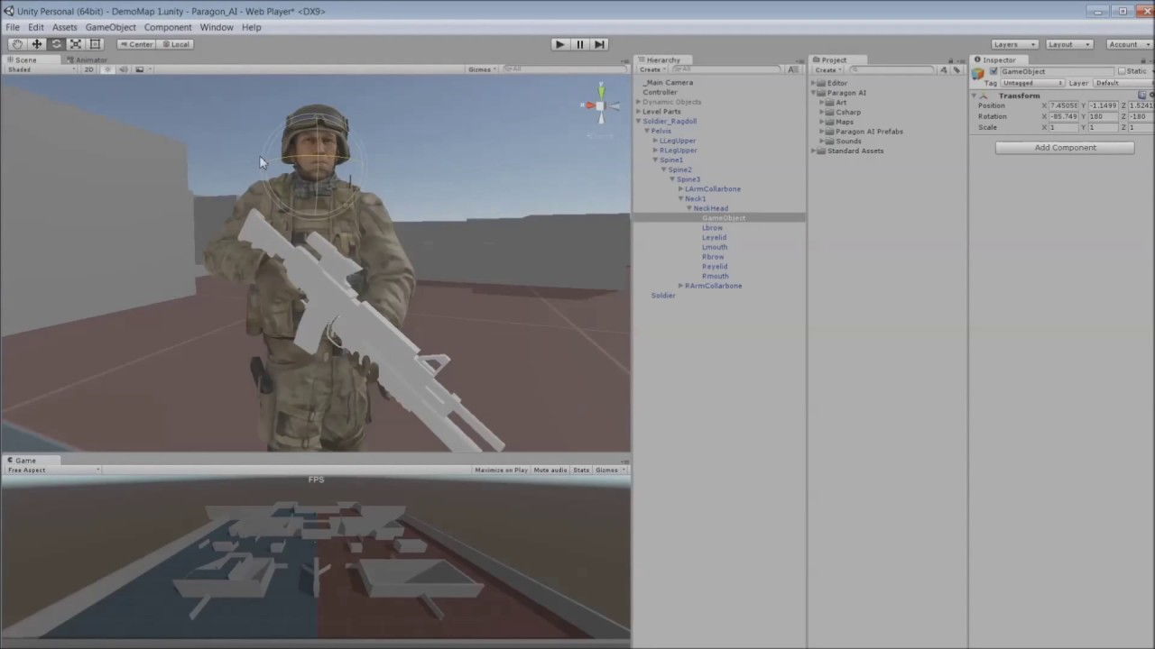 Tactical Shooter AI - Asset Store Pack - Unity Forum