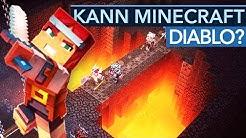 Minecraft Dungeons ist das kleinste Diablo der Welt