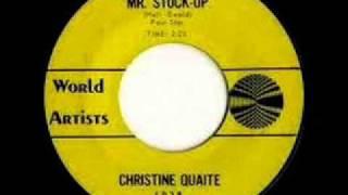 Christine  Quaite   Mr  Stuck Up  Un ragazzo terribile 1964