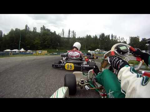 Tony Kart - Vortex Onboard Rioveggio Prefinale Prodriver Am 125