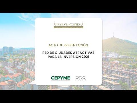 Red de ciudades atractivas para la inversión | Invest in Cities 2021