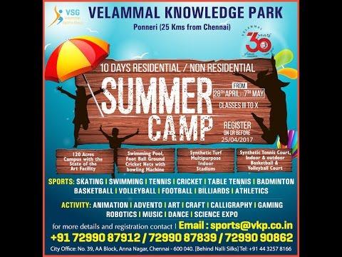 Velammal Residential Summer Camp - 2017