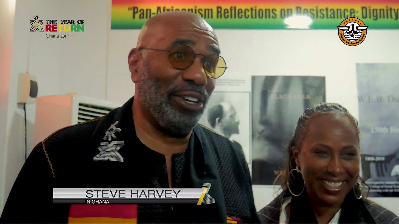 Ghana Is Home - Steve Harvey Visits Ghana