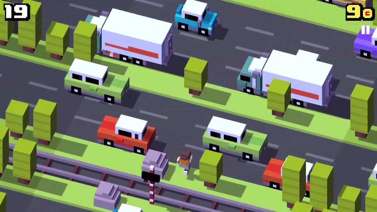 High score challenge crossy road youtube