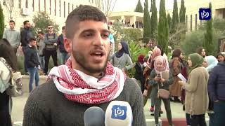 إصابات خلال تفريق قوات الاحتلال مظاهرة طلابية
